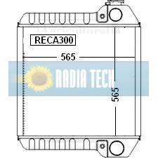 RADIATEUR CASE IH MX100, MX110, MX120, MX135, MX150, MX170