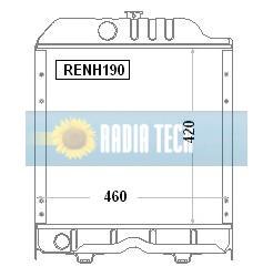 RADIATEUR NEW HOLLAND TT50, TT55, TT60