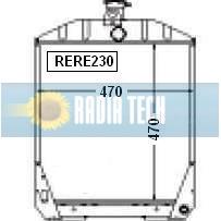 RADIATEUR RENAULT 891, 891-4, 951, 952, 981